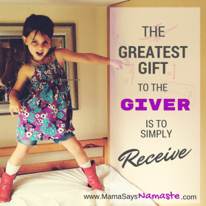 Gift to the Giver
