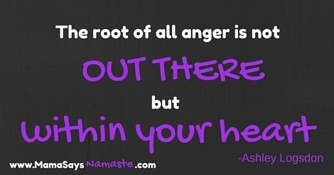 root of anger