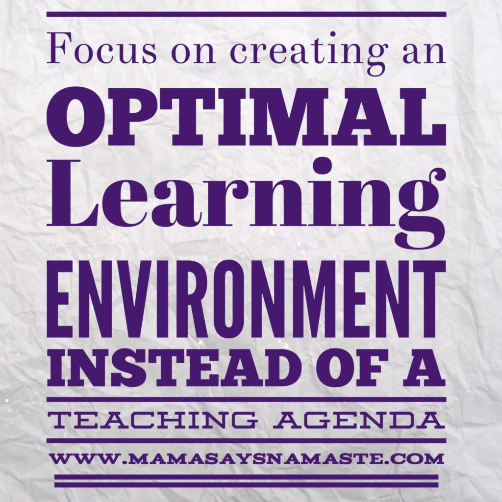 Optimal Learning Environment