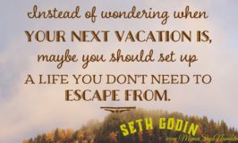 Travel To The Life You Don't Want To Escape From