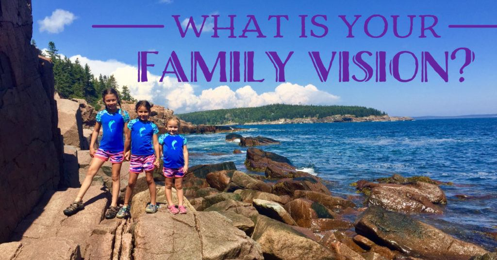 Have you created a family vision? If you want to be intentional and create the family where everyone thrives, do this!