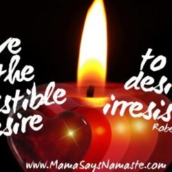 Be romantic...but remember desire to fuel the flame. Read more in this week's blog post.