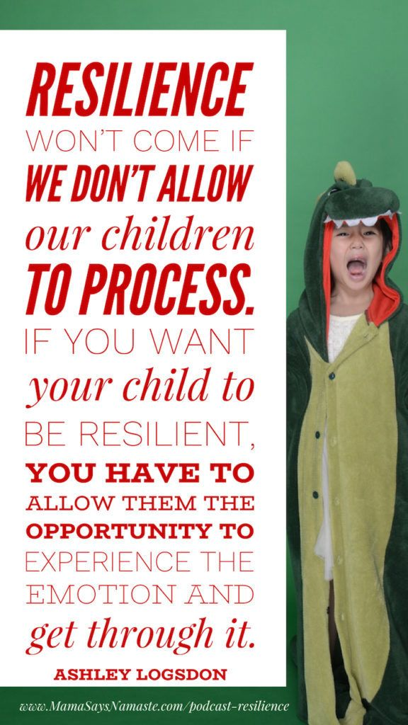 allow space, building resilience, resilience in kids, resilience in children