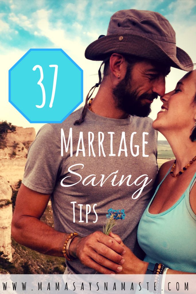 37 marriage saving tips