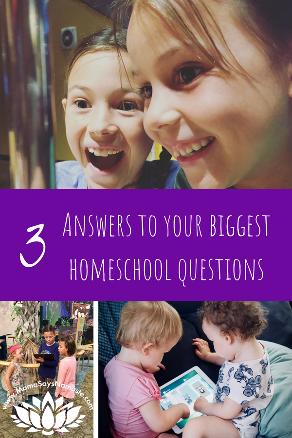 homeschool questions