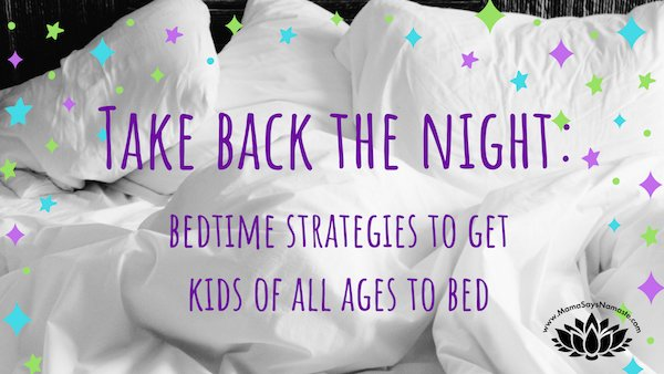 bedtime strategies for kids