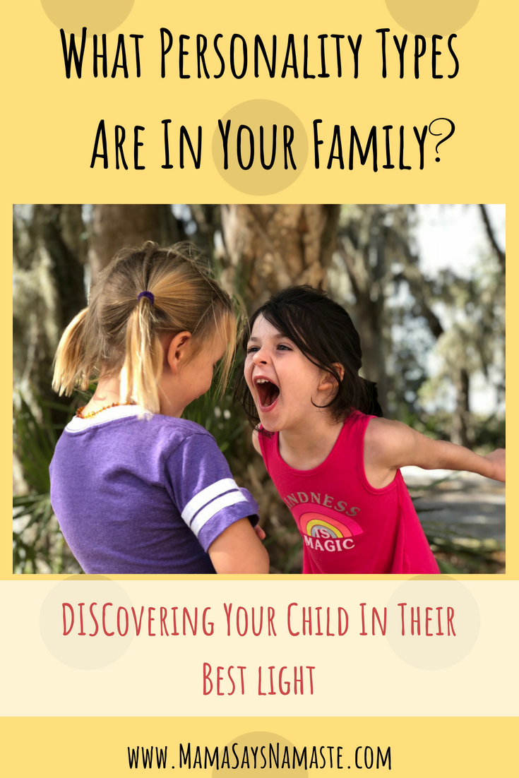 personality types for kids