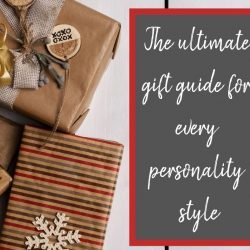 gift ideas for personality type