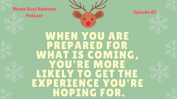 setting expectations during the holidays